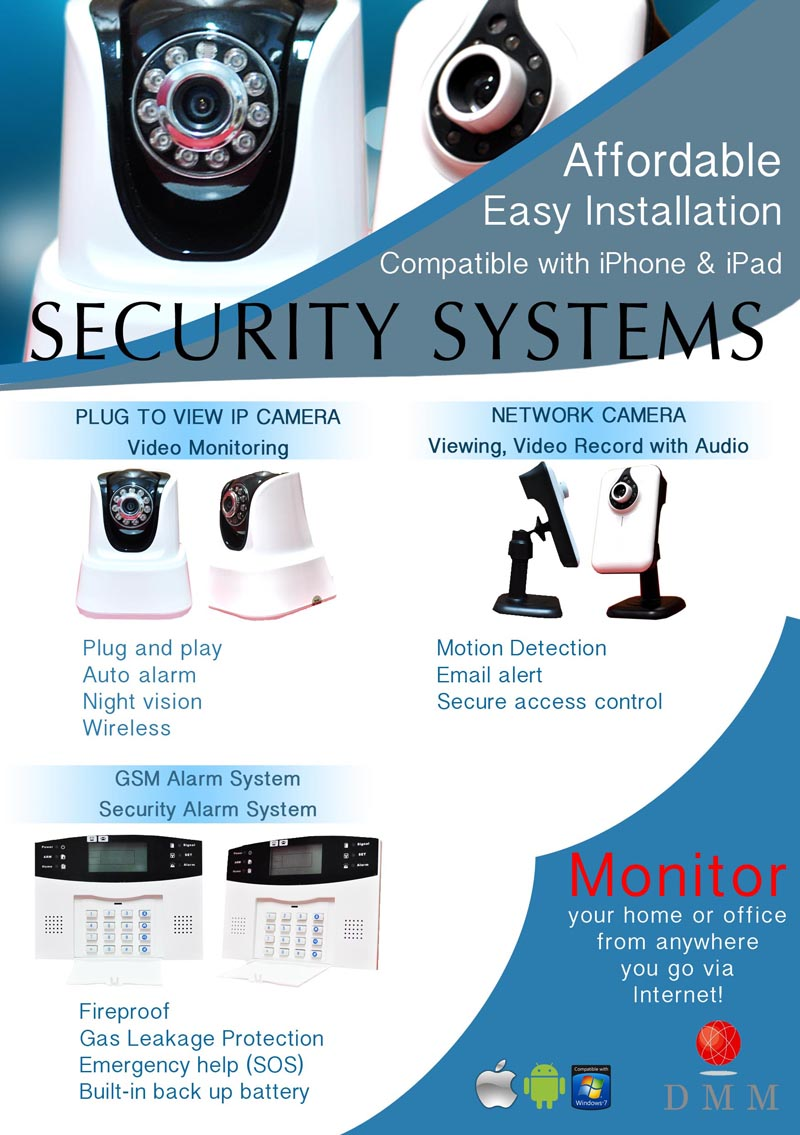 CCTV Camera Systems - For Schools, Businesse, Office, Home - Dynamic Media Marketing